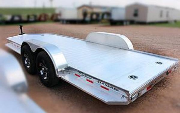 Aluminum Sundowner Car Hauler