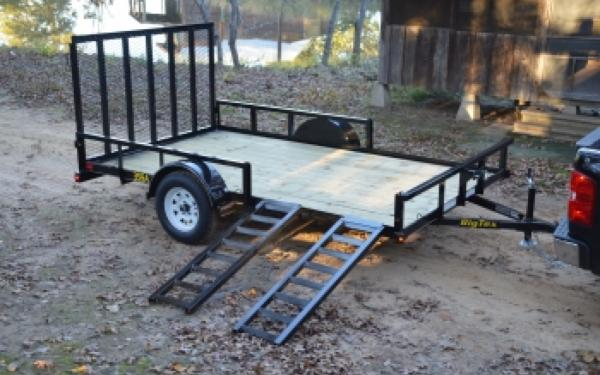 "35SA RSX- 83""x14' Big Tex Utility Trailer"