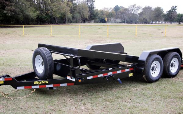"14FT-83"" x 16 Heavy Duty Full Tilt Bed Equipment Trailer"