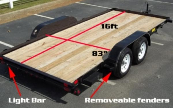 Big Tex Tandem Axle Car Hauler 2019 & 2020 Models
