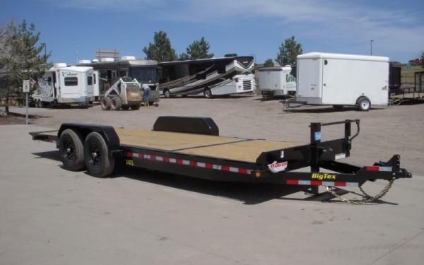 """Big Tex 14TL-83"""" x 22 (16 + 6) Heavy Duty Tilt Bed Trailer"""