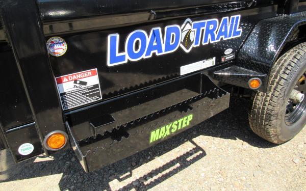 Load Trail 6'x14' Tandem Axle Dump Trailer 3724 S5 k6