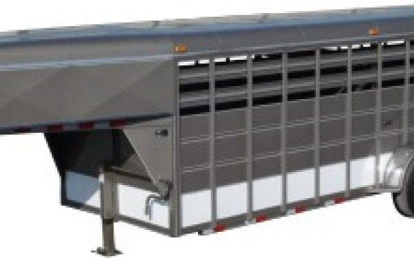 DELTA 600 HEAVY DUTY LIVESTOCK TRAILER