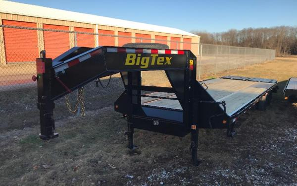 "Big Tex 22GN 102"" x 25 + 5' MEGA RAMPS"