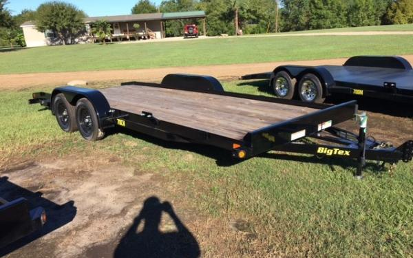 Big Tex 18' Tandem Axle Car Hauler With Dovetail