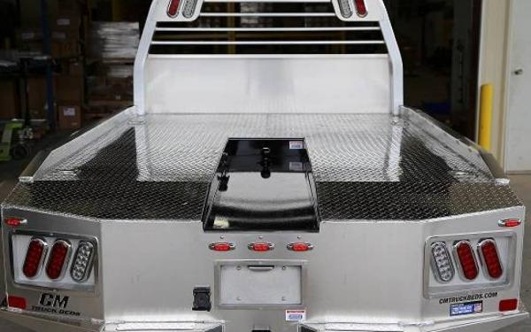 "Aluminum ER Model 11'4"" CM Truck Bed"