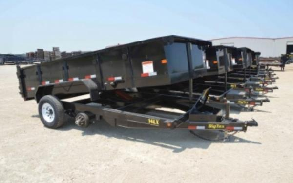 Low Profile Extra Wide Dump Trailer