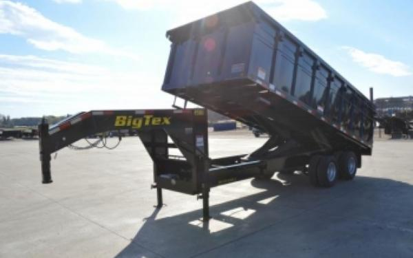 Heavy Duty Gooseneck Dump Trailer