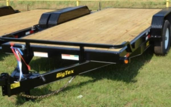 Tandem Axle Equipment Traile