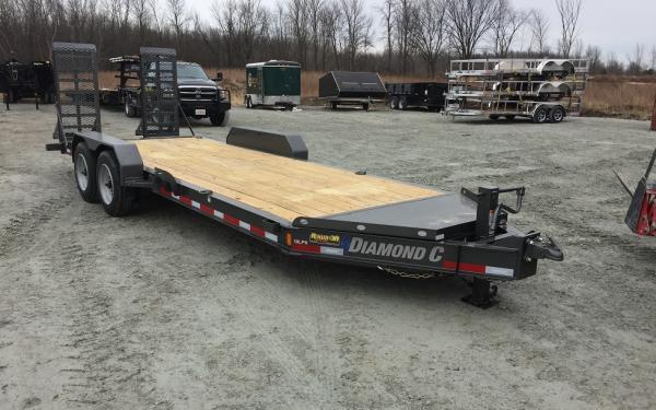 2019 Diamond C 19LPX Equipment Trailer
