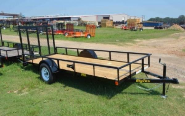 Big Tex Single Axle Trailer