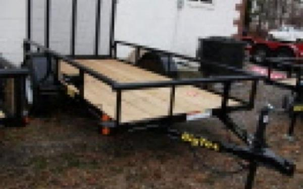Single Axle Utility Trailer Big Tex