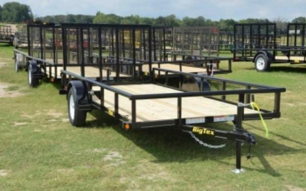 Big Tex Single Axle Utility