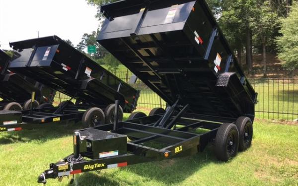 Big Tex 12' Dump Trailer 2019 & 2020  Models