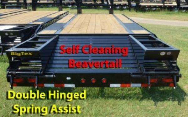 Big Tex Tandem Axle Gooseneck with 5' Dovetail  2019 & 2020 Models