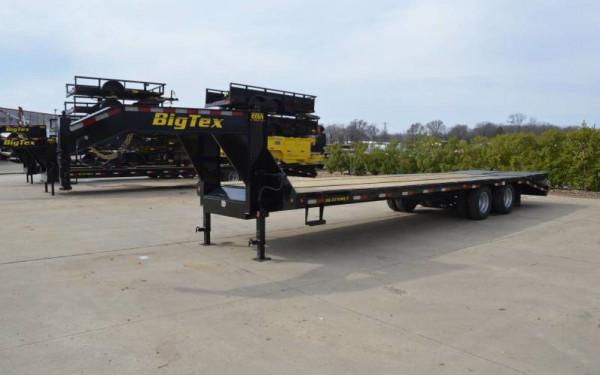 2017 Big Tex Heavy Duty Tandem Dual Gooseneck