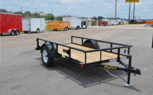 Big Tex 14' Single Axle Utility Trailer