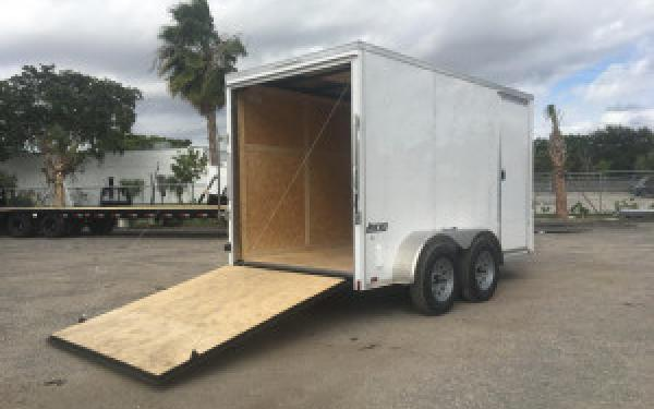 """6x12 Pace American Tandem axle Cargo Trailer ** 6"""" extra height"""
