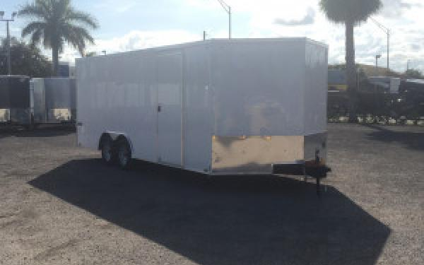 8.5x20 Pace American Enclosed Car Hauler Trailer Cargo