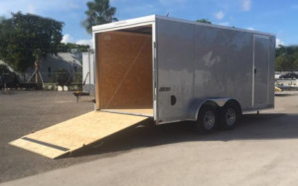 7x16 Pace American Cargo Trailer Tandem Axle EXTRA HEIGHT