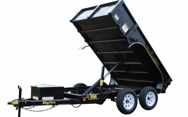 Big Tex Single Ram Dump Trailer