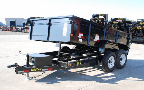 Silsbee Motor Company >> 10LX-12' Big Tex Tandem Axle Low Profile Dump Trailer | Silsbee Motor Company in Silsbee, TX