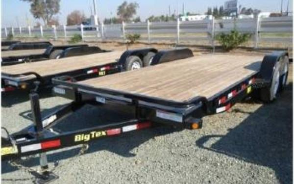 10OA-8.5 x 20' Big Tex Over The Axle Trailer