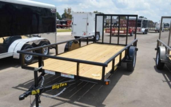 Big Tex 12' Single Axle Utility Trailer w/Gate