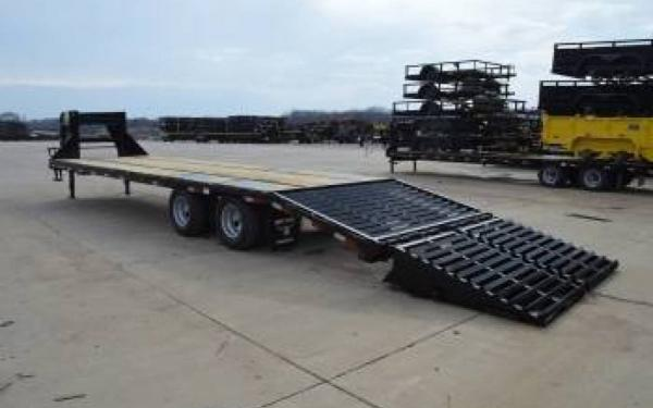 Silsbee Motor Company >> Big Tex 22GN-20+5 Trailer with Mega Ramps | Silsbee Motor ...