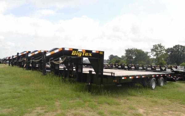 2015 Big Tex Tandem Dual Gooseneck Trailer