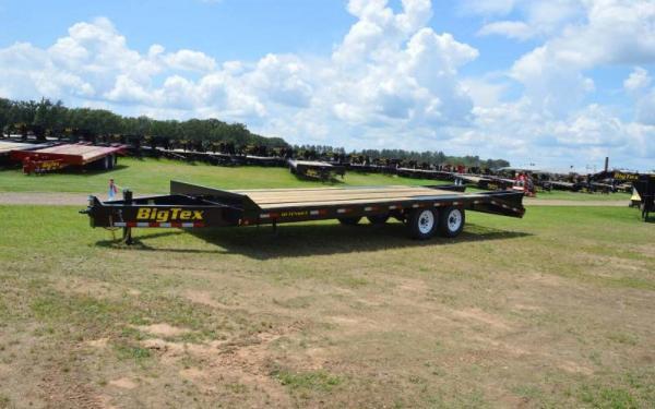 Big Tex Pintle Hook  Flatbed Trailer