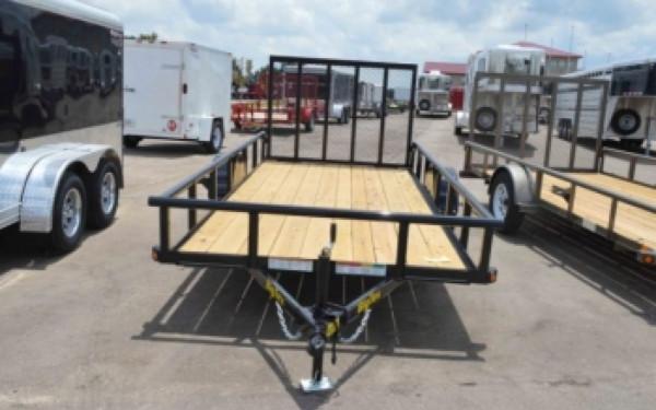 Big Tex Single Axle 10' Trailer w/Gate