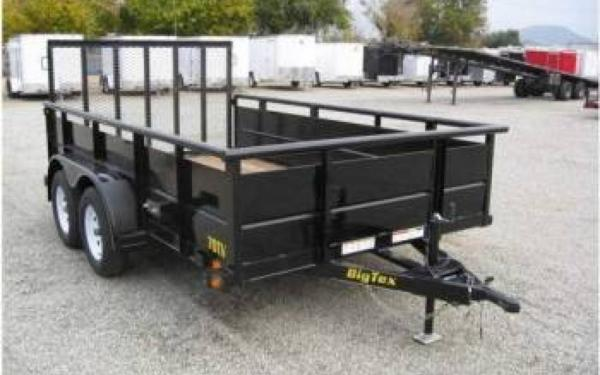 83 x 16 Big Tex Tandem Axle Vanguard