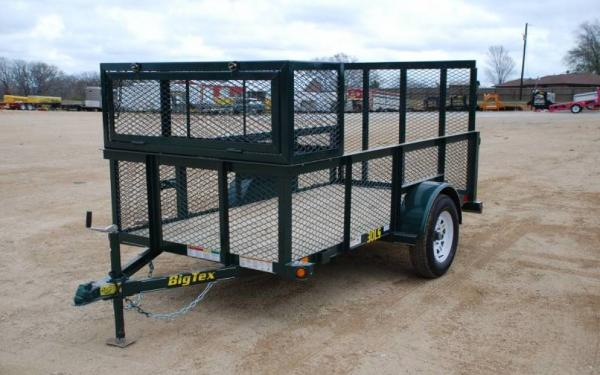 10' Big Tex Landscape Trailer