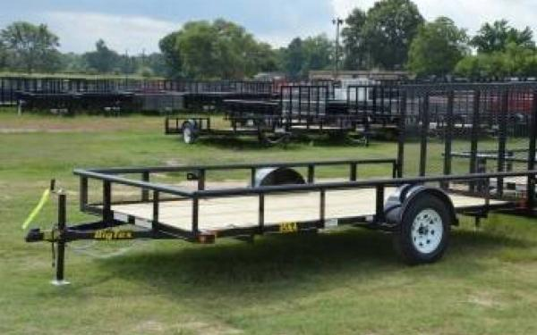 10' Single Axle Trailer w/ 4' Rampgate