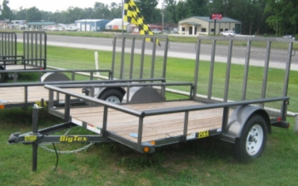2017 Big Tex 14' Single Axle Utility Trailer