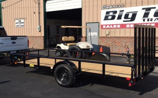 Big Tex 35SA-10' Utility Trailer w/Ramp Gate 2019 & 2020 Models