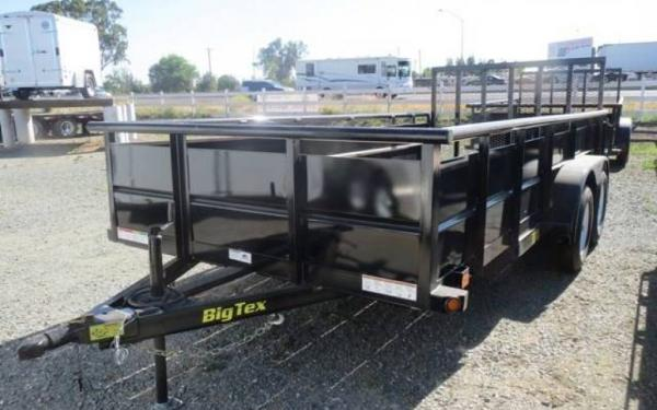 Big Tex 12' Single Axle Vanguard