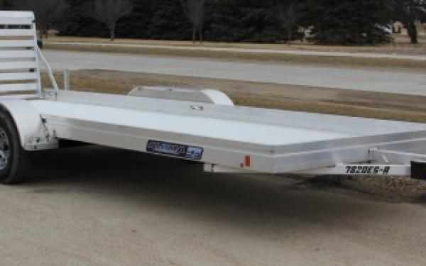 Aluma 7814 SA  Single Axle Utility Trailer