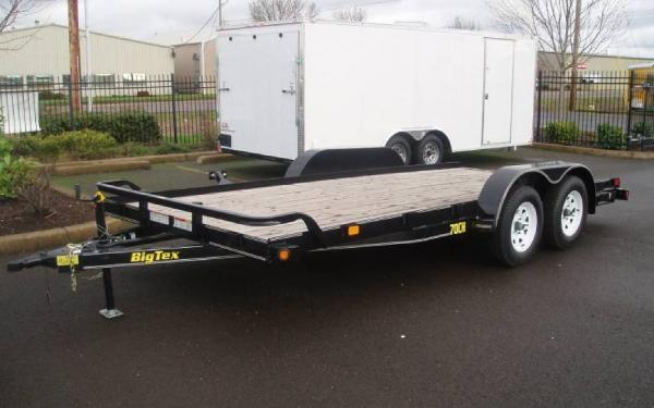 2019 Big Tex 70CH-18, 7 x 18 Tandem Axle Car Hauler
