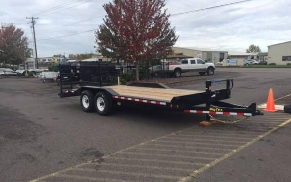 2019 Big Tex 14DF-20, 8 x 20 Tandem Axle 14K Equipment Trailer