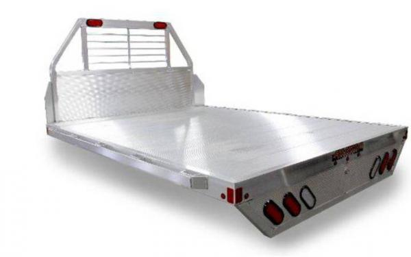 "Aluma Flatbed - 81"" x 96"" w/Headache Rack"