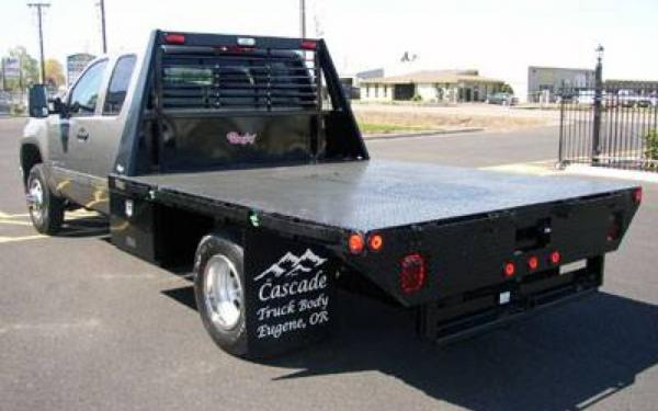 Rugby 12' Flatbed w/Smooth Steel Deck
