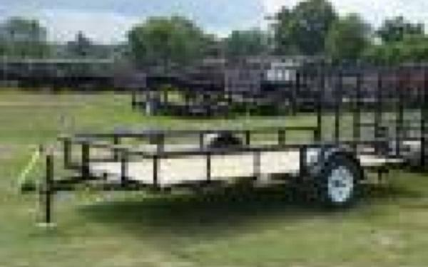 BIG TEX 6.5'X14' UTILITY TRAILER WITH RAMPGATE