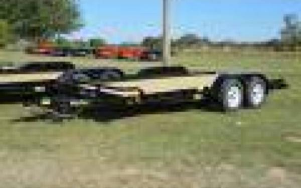 "BIG TEX 83""X20' 7000# OPEN CAR HAULER"