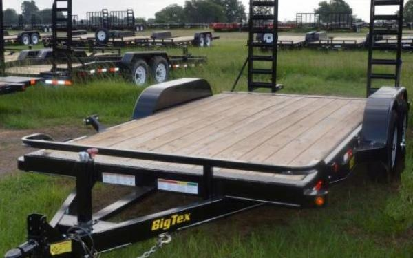 "BIG TEX 83""X18' 9990# EQUIPMENT TRAILER WITH RAMPGATE"