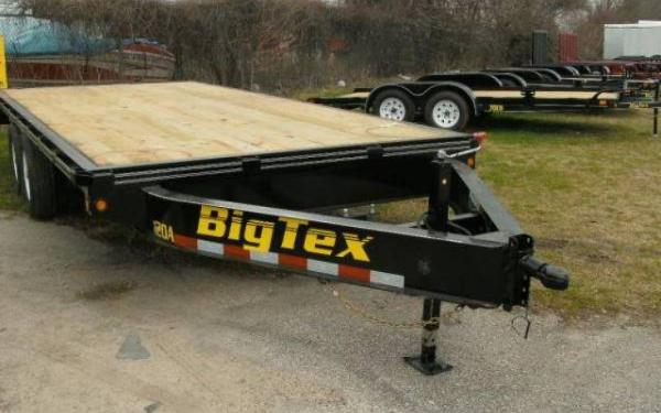 """BIG TEX 83""""X20' 14000# TRAILER WITH 32"""" DOVETAIL & RAMP"""