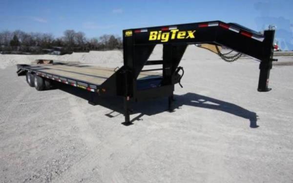 """BIG TEX 102""""X35''+5 TANDEM DUAL AXLE GOOSENECK"""