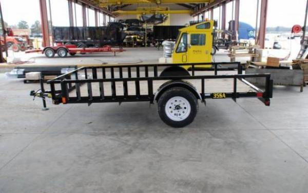 BIG TEX 7'X14' UTILITY TRAILER WITH SIDE RAMPS