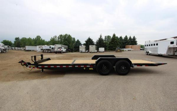 "Big Tex 14TL 83"" x 22 (16 + 6) Heavy Duty Tilt Bed Trailer"
